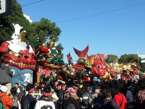 唐津くんち お旅所神幸 2012