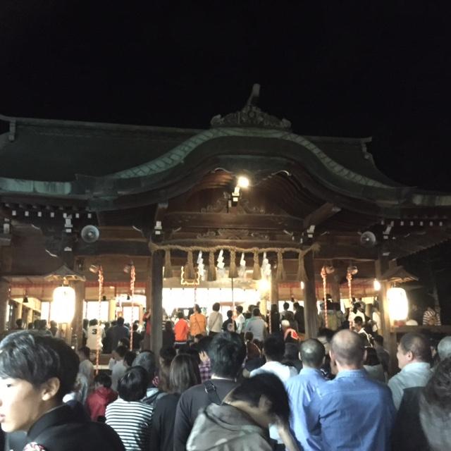 唐津神社 初くんち