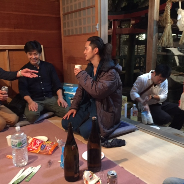 恵比寿神社を訪れた佐藤和哉さん