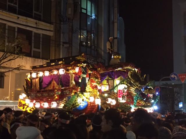 鳳凰丸と七宝丸 宵山 2016