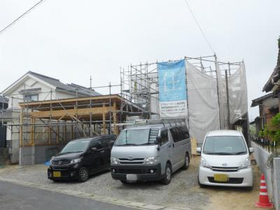 唐津市の注文住宅 T様邸 施工状況