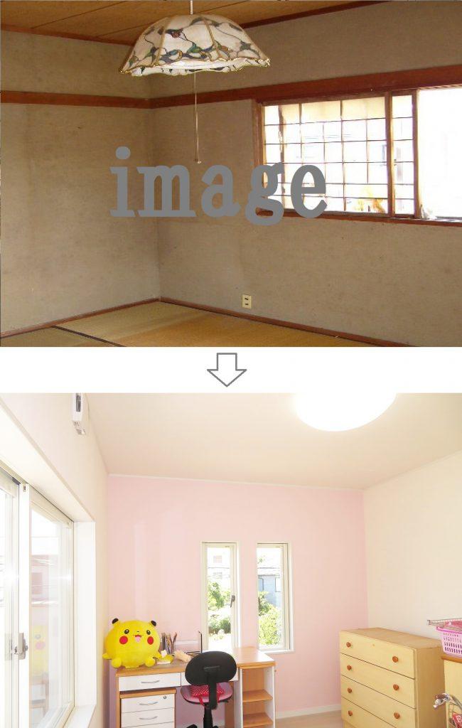 唐津のM様邸 リノベーション(大規模リフォーム)実例 個室