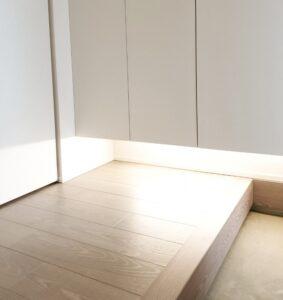 玄関の間接照明