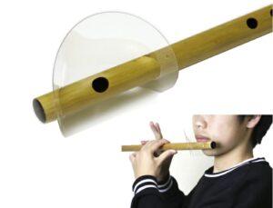 横笛用飛沫防止シールド
