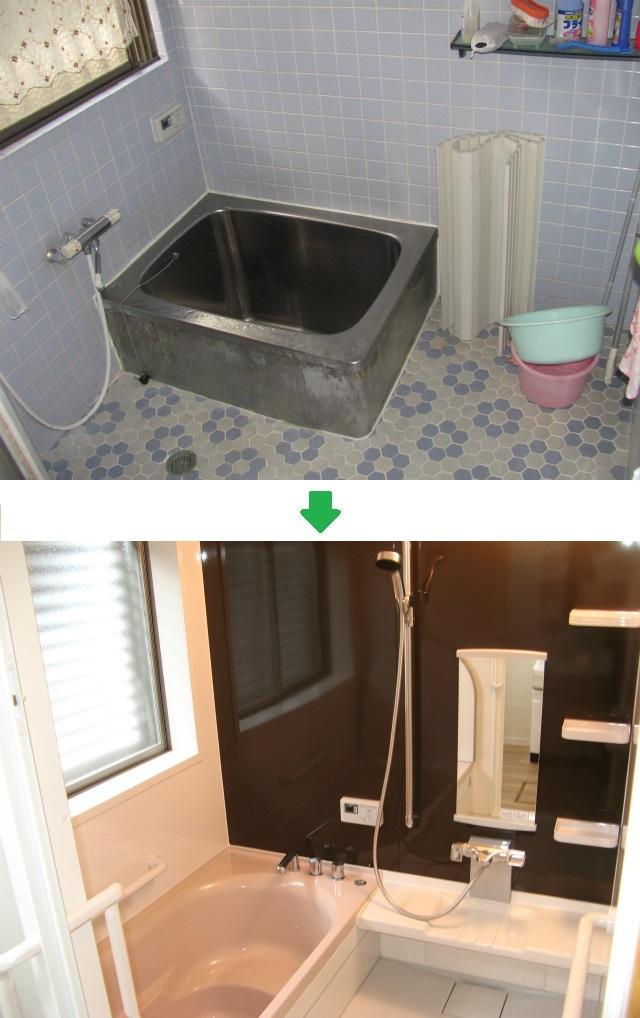 浴室リフォーム実例/唐津の工務店 クリエイトホーム