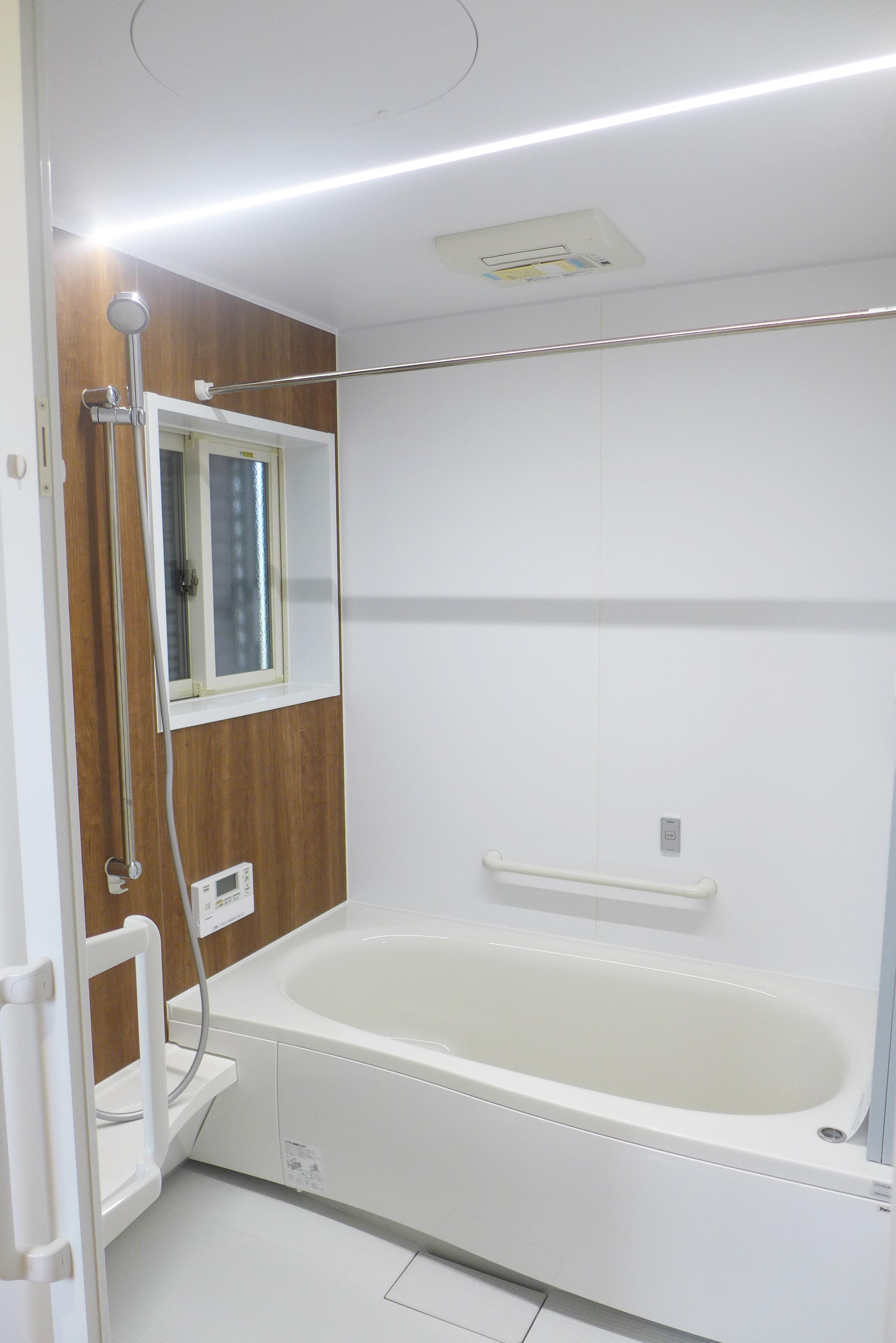 新築注文住宅S様邸の浴室