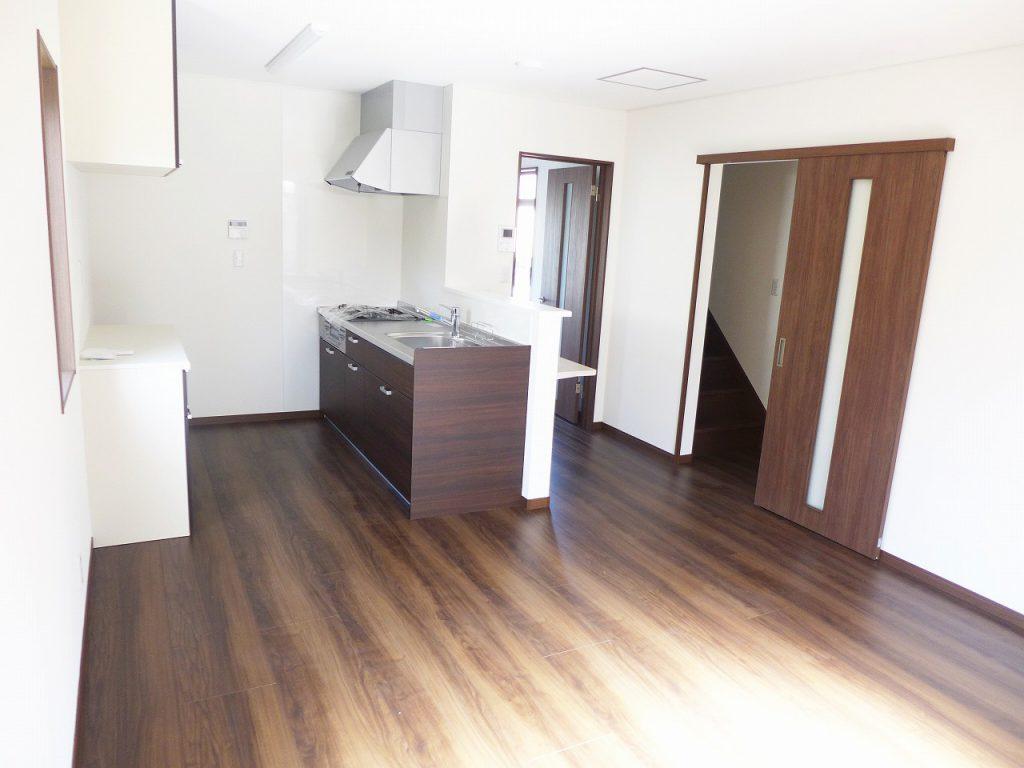 新築賃貸物件 キッチン付近